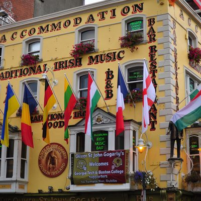 The Oliver St. John Gogarty.