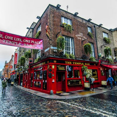 The Temple Bar.